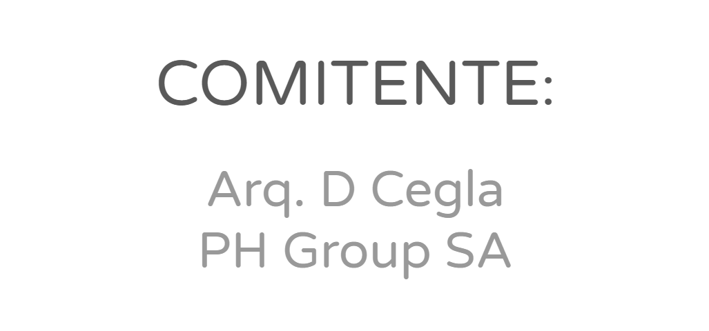 Arq. D Cegla - PH Group SA