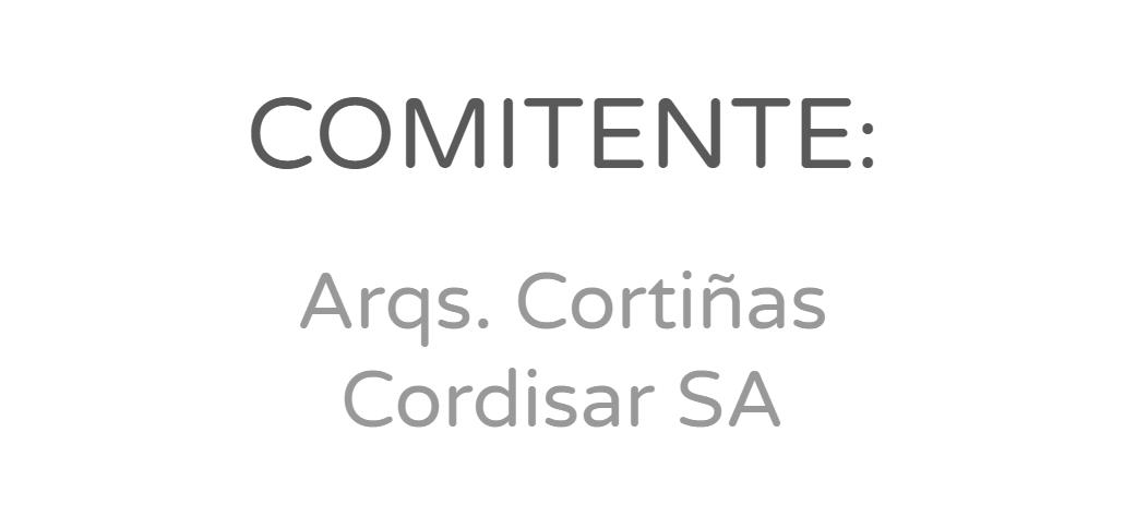 Arqs. Cortiñas - Cordisar SA